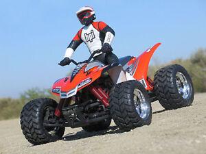 NEW Quad Bike body shell HPI E Savage Revo ATV Lexan