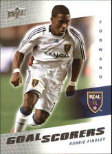 2008 (REAL SALT LAKE) Upper Deck MLS Goal Scorers #GS25 Robbie Findley
