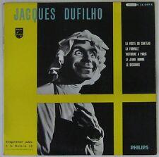 Jacques Dufilho 33 tours  25 cm