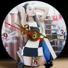 Brand New HOT Ariana Grande Singer Song Writer Music Artist CD Clock