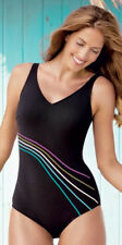 Anita Care 8 38C Black Bilbao One Piece Pocketed Mastectomy Swimsuit NEW