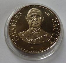 monnaie de paris-médaille-jeton- Charles De Gaulle président de la république.*