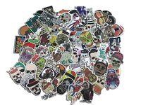 100pcs lot waterproof Sticker SKULL Decal Vinyl Skate Skateboard Laptop Luggage