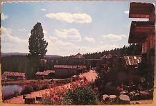 Montana Postcard FRONTIER TOWN Resort Overview HELENA Ernst Peterson Chrome 4x6