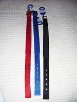 Ancol Padded Fabric Air Hole Dog Collar, 3 colours, 4 sizes