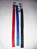Ancol Padded Fabric Air Hole Dog Collar, 3 colours, sizes from 35cm to 59cm