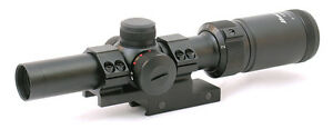 Hammers Low Power Variable 1-4x20 PCC CQB Carbine Rifle Scope w/ Offset Mount