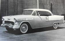 """1955 Chevrolet 210 Hardtop 2 Door 12 X 18"""" Black & White Picture"""
