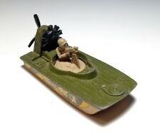 Vintage Matchbox Superfast #30 SWAMP RAT with Soldier Lesney Military Boat