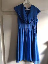 Robe Zapa bleue 100% soie taille 36