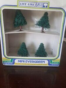 Life-Like Mini Evergreen Trees
