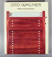 Otto Wagner Möbel und Innenräume Asenbaum 1984 Thonet J&J Kohn werkstatte