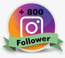 + 800 followers per crescita account - no password