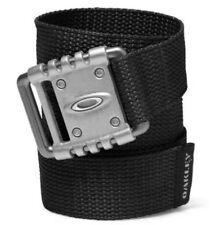 Oakley Icon Logo VSL NEW Black Adjustable Web Belt Golf B96134OVT Bubba Watson