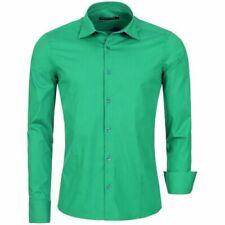 e4eda9bc1c Camicie classiche da uomo verde | Acquisti Online su eBay