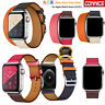 Leather Watch Band Herme Belt Double/Single Tour For Apple Watch Series 1/2/3/4