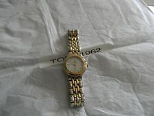 Premier Designs MEXICO gold silver watch rv $78 FREE ship new battery