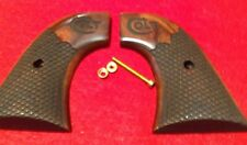 GENUINE FACTORY COLT SINGLE ACTION ARMY SAA GRIPS WITH COLT LOGO 2ND 3RD GEN