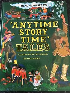 Anytime Story Time Tales - 1979 1st ed Hardcover 0861120086 Brimax vintage