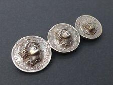 Etonnate broche pieces de monnaie repoussées dollars 1911 USA argent
