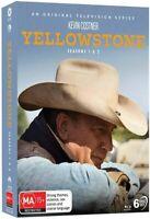 YELLOWSTONE Season 1 + 2 (Region Free) Blu-ray The Complete Series