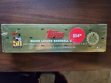 2001 Topps Complete Baseball GOLD Factory Sealed Set Series 1 & 2 50th Ichiro rc