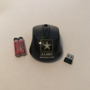 U.S. Army Wireless Mouse with Dongle