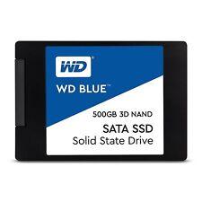 """WD Blue 3D NAND 500GB PC SSD - SATA III 6 Gb/s 2.5""""/7mm SSD - WDS500G2B0A"""