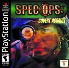 Spec Ops: Covert Assault PS New playstation