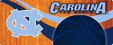 NORTH CAROLINA TARHEELS BASKETBALL BUMPER STICKER-UNC BASKETBALL STICKER