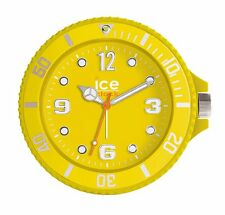 Genuine Ice Clock Table Oversized Alarm Watch Analogue Silent Yellow Xmas Gift