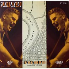 10 inch 25 CM Jake Calypso & His Red Hot - NEW 2015 VINYL SUN RECORDS ROCKABILLY