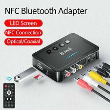 Wireless NFC-Bluetooth-Adapter Empfänger 3.5mm Buchse Hifi Adapter Audio AUX NEU