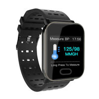 Waterproof Sport Smart Watch Blood Pressure Heart Rate Monitor iPhone Android BI