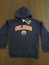 Edmonton Oilers YOUTH Medium Hooded Sweatshirt . Hoodie NEW NHL Hockey Kids Fan