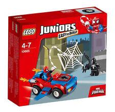 NUOVO COSTRUZIONI LEGO JUNIORS Spider-Man SPIDER-AUTO Pursuit Set 10665 piegate BOX
