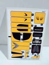 LEGO Speed Champions McLaren P1 NEU NUR STICKER!! 75909 NUR STICKER!!!