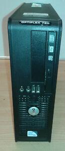 LOT DE 10  PC  DELL Optiplex 780 DUAL CORE  *HDD 250Go* * RAM 3Go