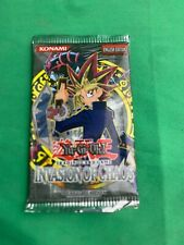 Yu-Gi-Oh Invasion Of Chaos English 9 Card Pack Unopened!