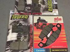 kit pastiglie anteriori + posteriori Kawasaki ZZR 600 1990 1991 1992 ZX600D