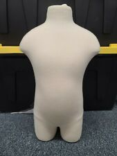 Child Torso Mannequin Clothing Display Size 4 Condition: Used/Very Good