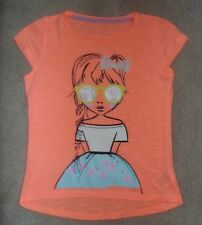 MOTHERCARE ORANGE SHORT SLEEVE TOP SIZE AGE 4-5 YEARS