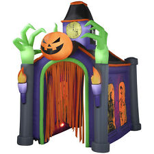 GEMMY GIGANTIC HAUNTED HOUSE SOUNDS LIGHT EFFECTS HALLOWEEN INFLATABLE