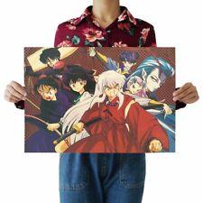 US Seller-bedroom themes Japanese anime kraft paper retro poster