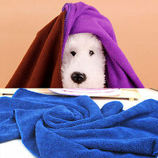 Home Use Soft Warm Towel Pet Puppy Dog Cat Fleece Blanket Small Size Mat Sports