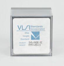 Vlsi Step Height Standard Shs-9400Qc, New! 9,400 Ã… Step Height, 9k Angstroms