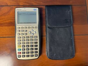 HP 49G+ Graphing Calculator with Case