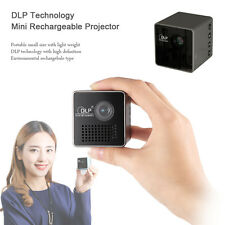 UNIC 30 Lumens DLP Rechargeable Micro Movie Theater Mini Projector For Home Used