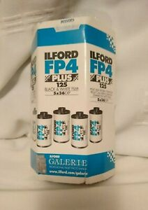 ILFORD FP4 Plus 35mm 125 ISO Photo Film (Black and White) X2 UNUSED BUT EXPIRED