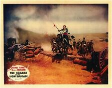 THE CHARGE OF THE LIGHT BRIGADE Movie POSTER 11x14 Errol Flynn Olivia de